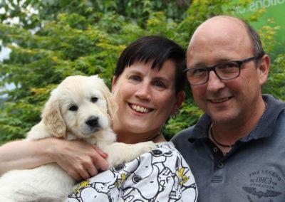 Jane mit Daniel und Petra Arni-Roemer