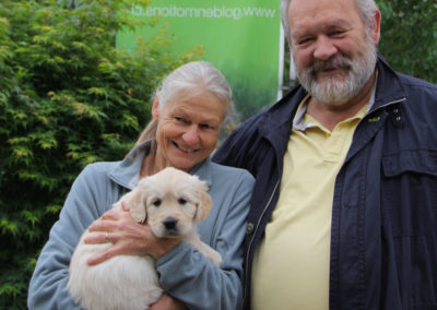 Aisha mit Familie Evi und Christoph Hürlimann